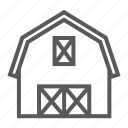 agriculture, barn, building, farm, farming, hangar, storage icon