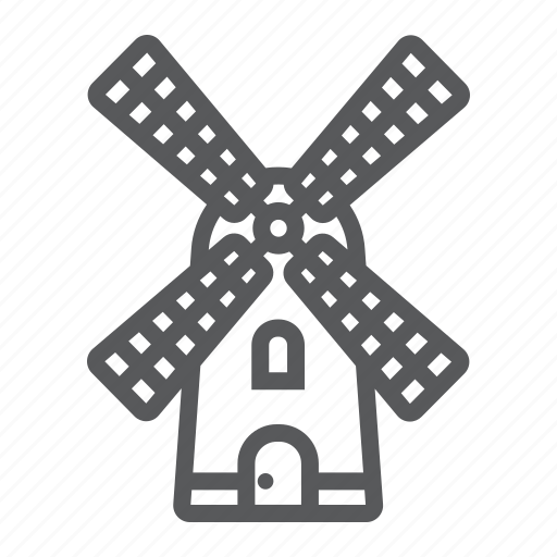 agriculture, energy, farm, farming, flour, mill, windmill icon