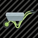 accessories, equipment, farm, gardening, inventory, wheelbarrow