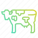 animal, cow, farm, kingdom, mammal, milk icon
