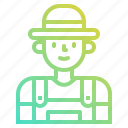 avatar, farmer, job, man, occupation, people icon