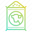 dish, farm, feed, fodder, food, garden, pet icon