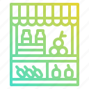 farming, food, fruit, market, organic, vegetables icon