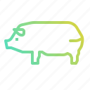 animal, food, ham, leg, pig, pork, restaurant icon