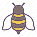 bee, bumblebee, honeybee, insect icon