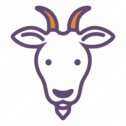 Animal, cattle, farm, goat, head icon - Download on Iconfinder