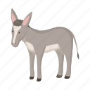 animal, donkey, farm, pet icon