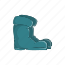 boot, cartoon, footwear, old, rubber, shoe, waterproof icon