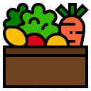 food, healthy, vegetables icon