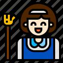 avatar, job, maid icon