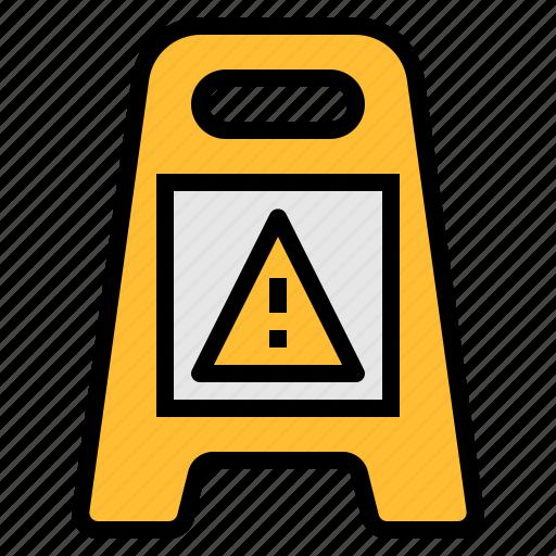 sign, warning icon