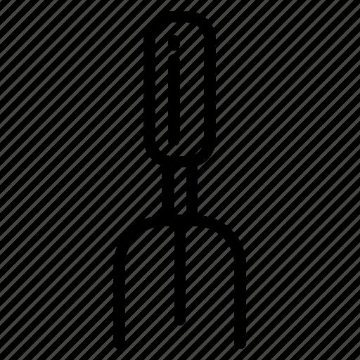 farm, garden, gardening, rake, small, tool icon icon