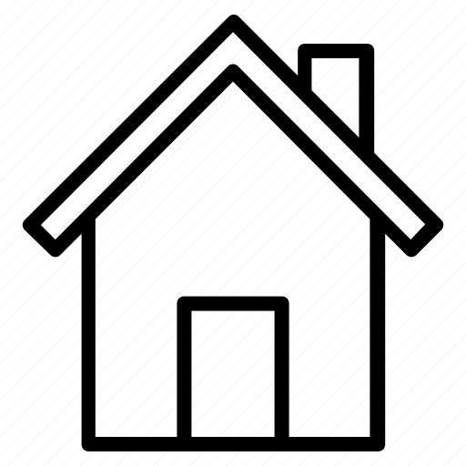 Building, estate, garden, home, house, real icon icon - Download on Iconfinder