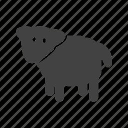 animal, animals, cow, dairy, farm, field, summer icon