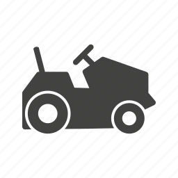 agriculture, farm, farming, field, plow, tractor, vehicles icon