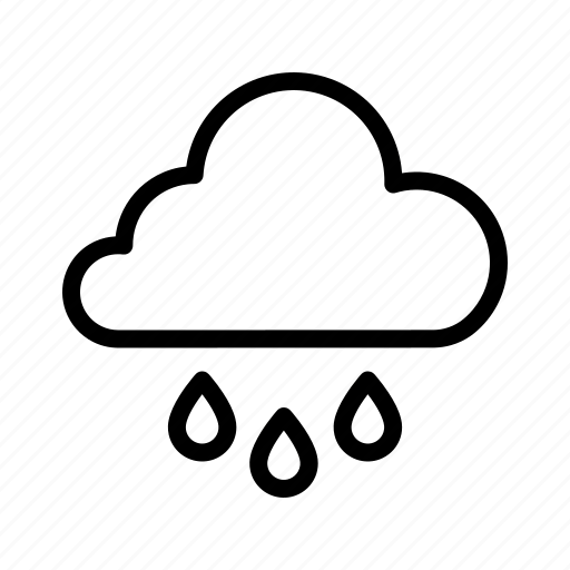cloud, rain, sky, weather icon