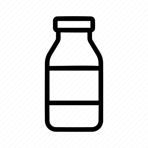 Bottle, milk, beverage, drink icon - Download on Iconfinder