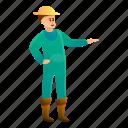 business, farmer, hand, happy, hat, woman