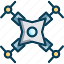 drone camera, drone seeding, explore, spy, spy camera icon