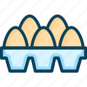 chicken egg, egg, egg carton, eggs, natural egg icon