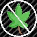 no weed, weed