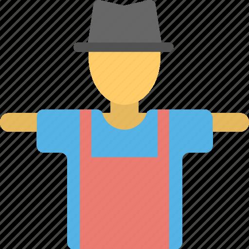 farming element, guard to field, ogre, scarecrow, scarer, straw man icon