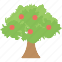 agriculture, apple tree, farming, fruit garden, orchard icon