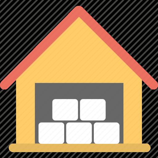 barnhouse, country home, farming concept, storehouse, warehouse icon