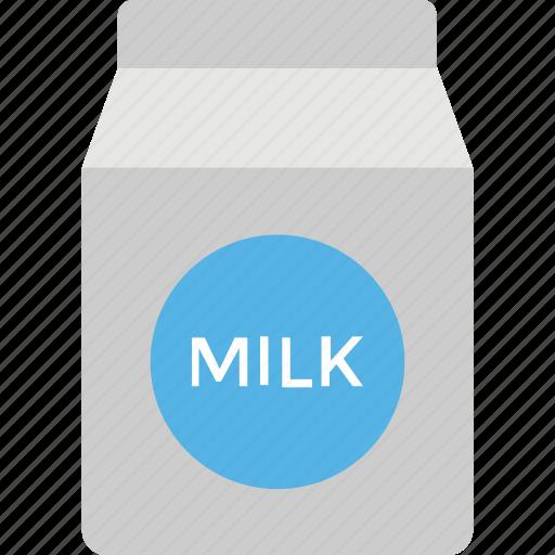beverage, milk carton, milk pack, milk package, tetra pack icon