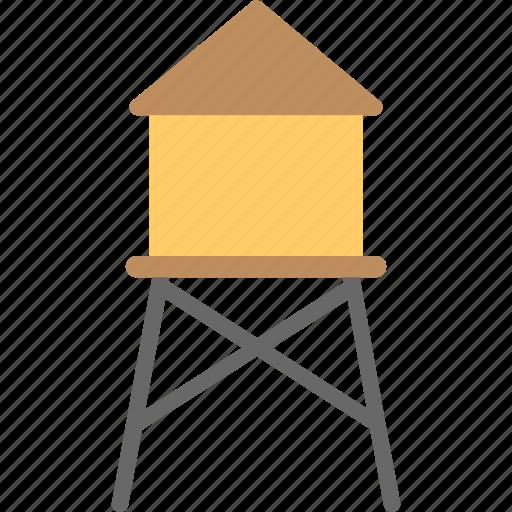 bamboo home, cottage, farm hut, small terrace, straw hut icon