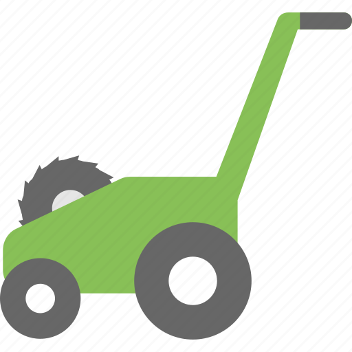 agricultural equipment, electric machine, gardening tool, grass cutter, lawn mower icon
