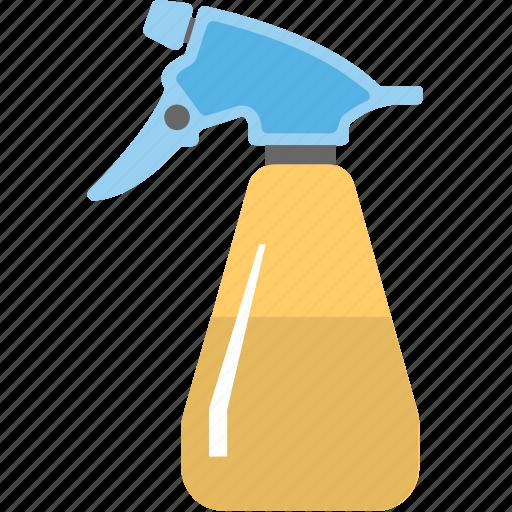 cleaning supplies, liquid bottle, spray bottle, spray can, sprayer icon