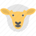 agriculture, animal farming, lamb, livestock, sheep icon