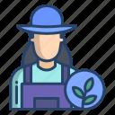 farmer, woman