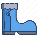 rubber, boot
