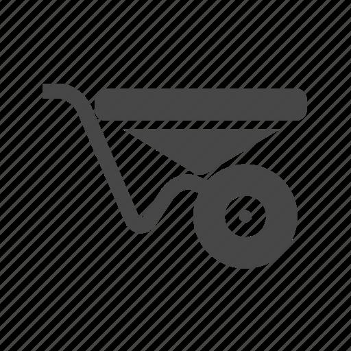 Farming, wheelbarrow icon - Download on Iconfinder