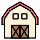 agriculture, barn, building, farming, storage, storehouse icon
