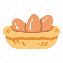 chicken, cooking, egg, farm, food, fresh, ingredient icon
