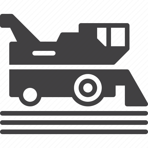 agriculture, farming, harvester, vehicle icon