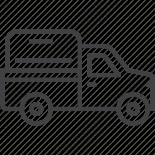 car, pickup, truck, van, vehicle icon