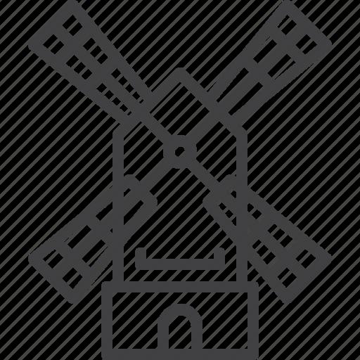 mill, wind, windmill icon