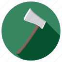 axe, equipment, farm, repair, tool, tools icon