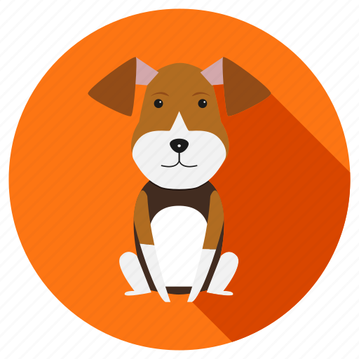 animal, animals, cartoon, dog, farm icon