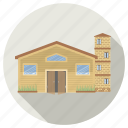 architecture, building, home, house, villa icon
