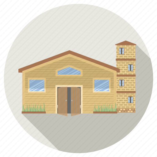 architecture, building, home, house, villa icon