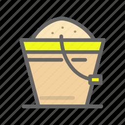 agriculture, bucket, farm, feed, food icon