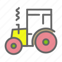 agriculture, farm, tractor, transport, vehicle, work