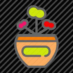 agriculture, farm, flower, pot icon