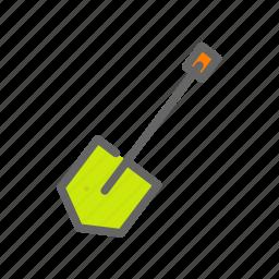 agriculture, farm, farmer, spade, tools icon