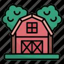 barn, bulding, buildings, farm, gardening, grain